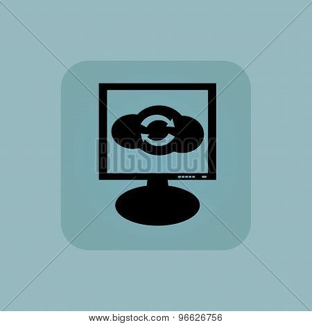 Pale blue cloud exchange monitor