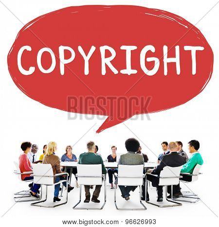 Copyright Trademark Identity Owner Legal Concept