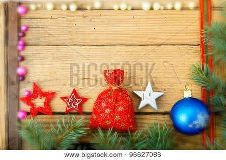 Christmas Background, Selective Focus