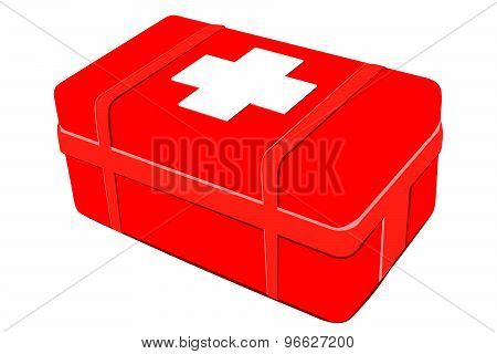 First Aid Kit. Medical Equipment
