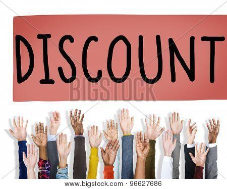 Discount Retail Sale Promotion Marketing Concept