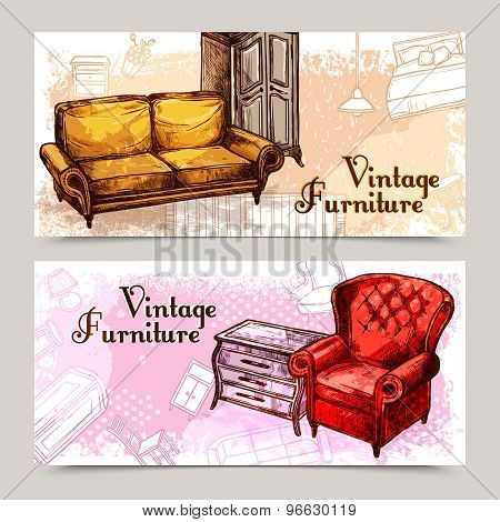 Furniture Banner Set