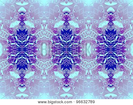 Seamless pattern blue gray