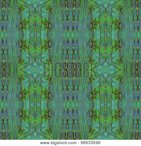Seamless pattern green violet