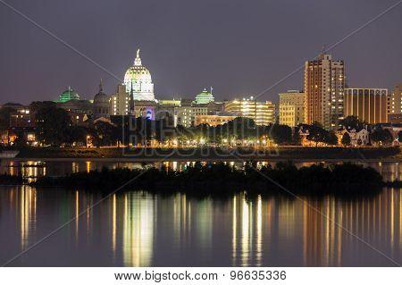 Harrisburg Skyline
