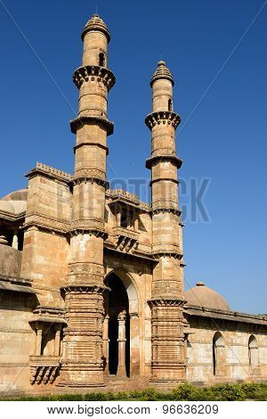Champaner - Pavagadh Archaeological Park Near Vadodara, India