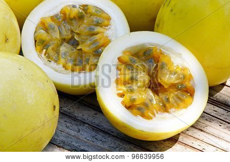 Yellow Passion Fruit.