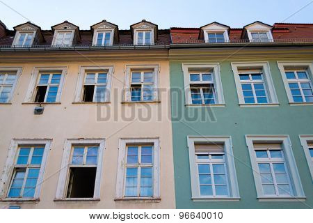 Colorfull Houses In Heidelberg