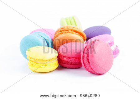 Group Of Colorful Macaroon