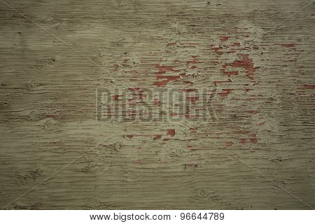 Old Wood Painted Background.