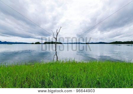 Nice lake shore