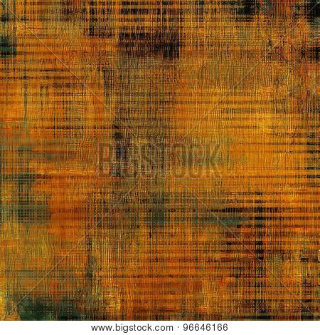 Grunge old texture as abstract background. With different color patterns: yellow (beige); brown; cyan; black