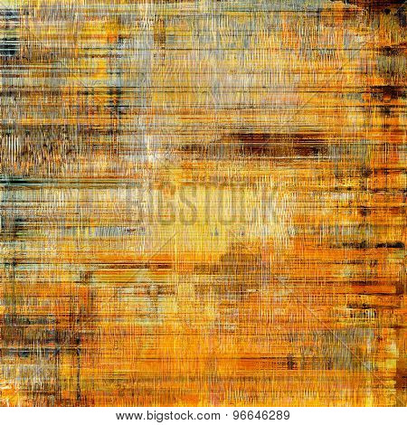 Antique vintage texture, old-fashioned weathered background. With different color patterns: yellow (beige); brown; gray; cyan