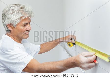Measuring a wall
