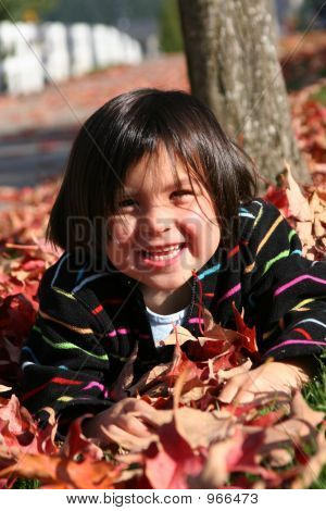 Playing In Leafs