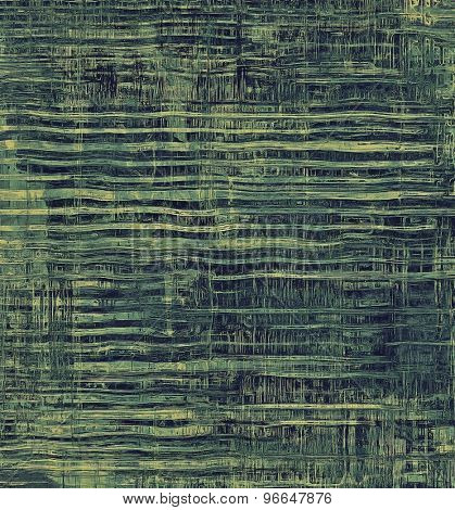 Grunge texture, Vintage background. With different color patterns: brown; gray; green; cyan