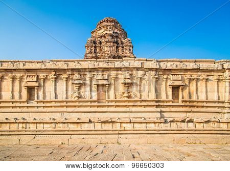 Temples of Hampi, a UNESCO World Heritage Site, India.