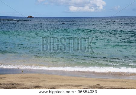Beach And Islet