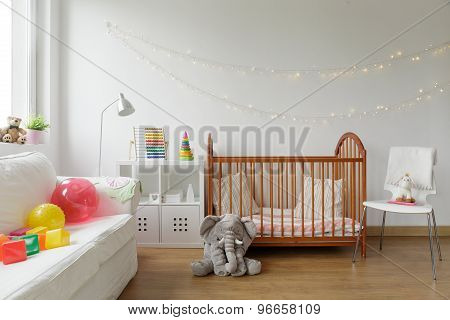 Newborn Room Interior