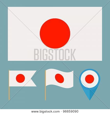 Japan,country Flag
