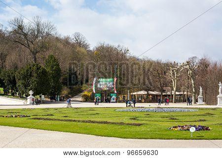 Schonbrunn Zoo Entrance Gate