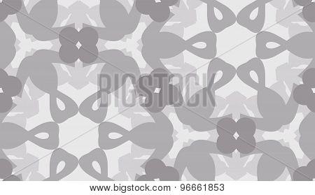 Gray Hexagonal Pattern