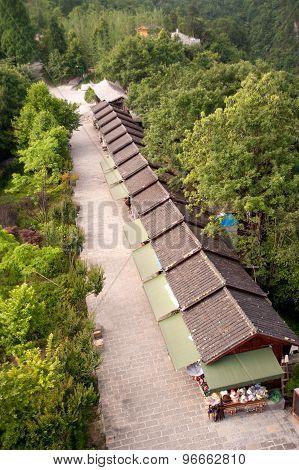 Souvenir Shop In Zhangjiajie Natural Scenery In China.