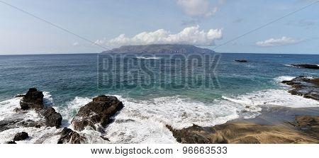 Waves In Djeu, Cloudscape Over Brava