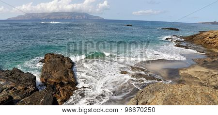Beach With View Of Brava