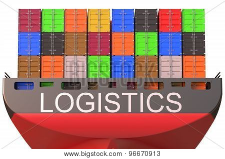 Container Ship, Logistics Concept