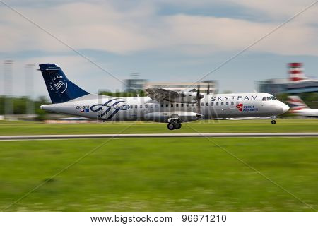 Csa - Czech Airlines (skyteam)