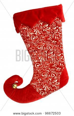Red Christmas Boot