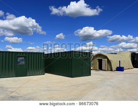 Containers And The Tent