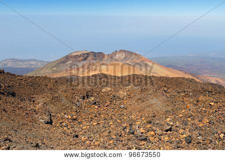 Pico Viejo, El Teide National Park, Tenerife, Canary Islands, Spain