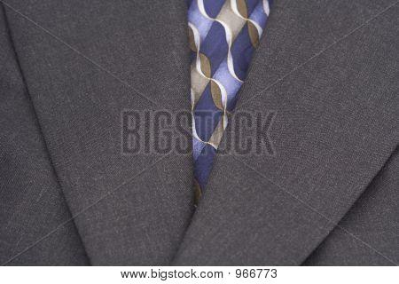 Coat And Tie Upclose