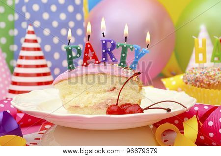 Happy Birthday Party Table