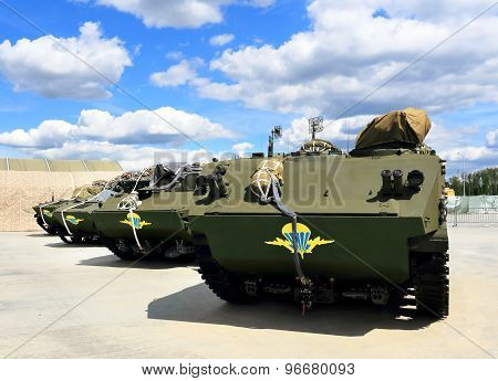 Airborne Multipurpose Tracked Armored Personnel Carriers
