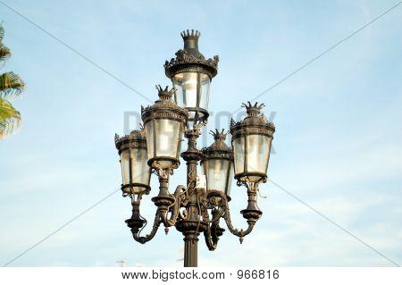 Sitges. Street Lamp