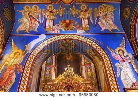 Ancient Basilica Saint Michael Cathedral Kiev Ukraine