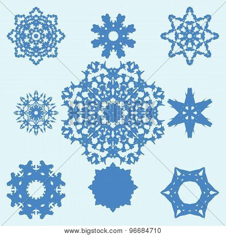 Set From Original Snowflakes