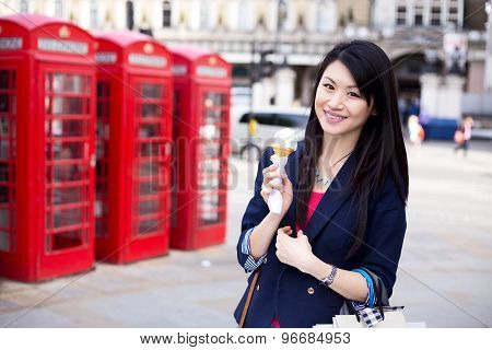 girl in London