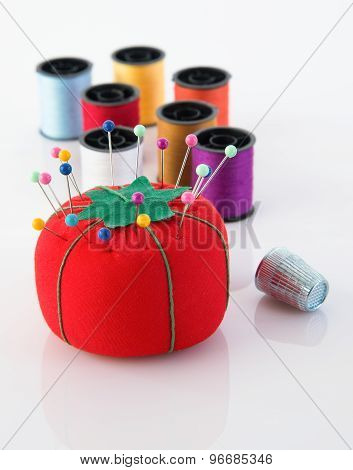 Colorful Sewing Tools