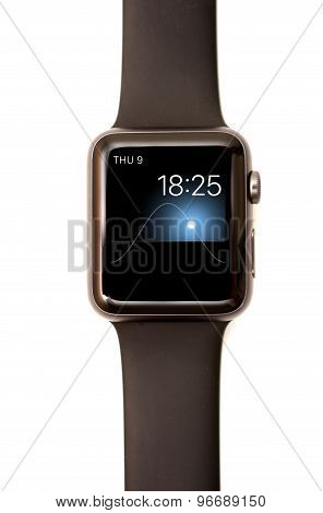 Apple Watch Solar Face Screen