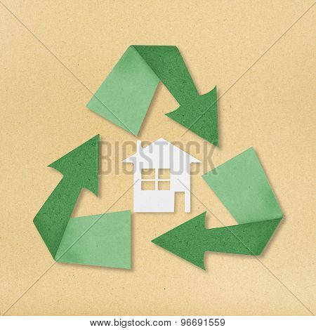 Reuse, Reduce, Recycle Poster Design On Paper