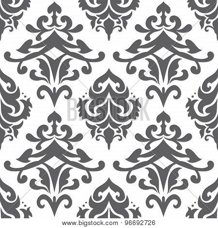 Vector Islamic Damask Pattern