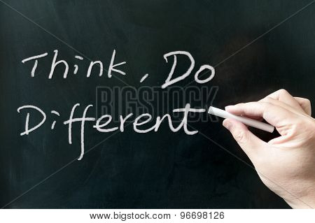 Think, Do Different