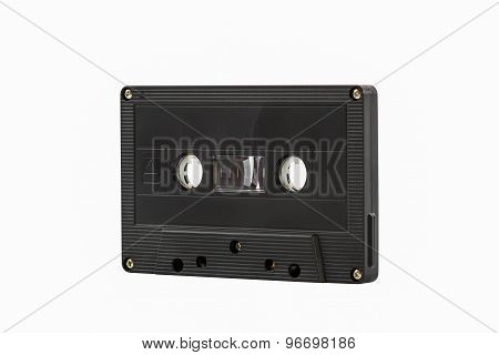 Cassette Tape Isolate On White Background.