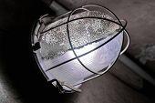 pic of dungeon  - Nice mystic light lantern in dungeon at dark - JPG