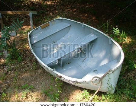 Dinghy On Land