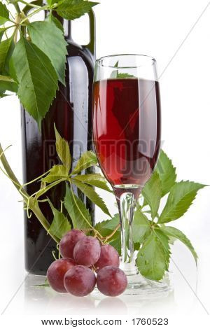 Romantic Wine Still-Life